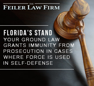 Picture of Gavel from Florida Court for Stand Your Ground Law Blog Post
